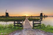 Landschapsfotografie: Vroege morgen in Unesco Werelderfgoed Kinderdijk