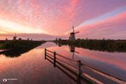 Landschapsfotografie: Beautiful sky in Werelderfgoed Kinderdijk