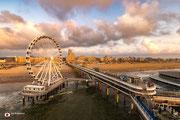 Landschapsfotografie van de Pier in Scheveningen (Zuid-Holland, Nederland)