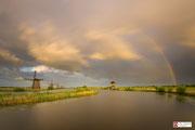 Stormy Kinderdijk