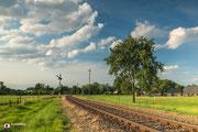 Landschapsfotografie: De nostalgische spoorlijn van VSM te Lieren (Gelderland, Nederland)