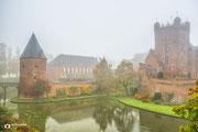 Landschapsfotografie: Mist rondom Kasteel Huis Bergh te 's-Heerenberg
