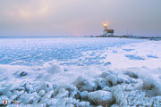 Landschapsfotografie: Paard van Marken tijdens winterse omstandigheden