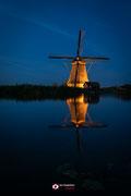Nachtfotografie: 'Illuminated' in Kinderdijk (zh)