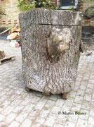 Holz für Gämse