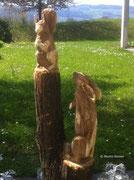 Eichhörnchen und Hase