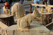 Holzsymposium - Eichhörnchen