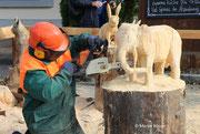 Holzsymposium - Entstehung eines Elefanten