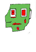 Un zombie évolué par Lùka