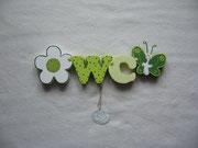 Blume normal - WC - Schmetterling rund