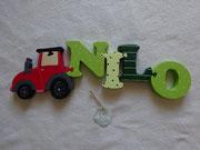 Traktor rot - NAME