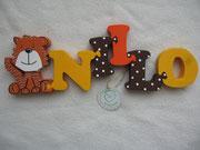 Tiger sitzend - NAME