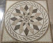 панно LUTECIA POL 1000*1000мм,  мозаика каменная Розн. Цена - 38 500 руб/панно
