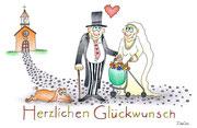 Hochzeitskarte Liebe