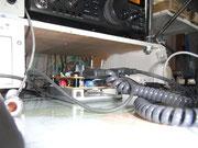 OIK-F88エレキーの下段にねばり防止回路がある、電源は共用