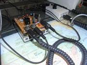 右に単体のねばり防止回路