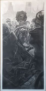 Assassin (60 x 110); Charcoal on paper; fixative) AVAILABLE
