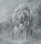 Willow (42 x 60 cm; charcoal on paper; fixative) AVAILABLE