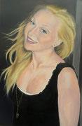 Eva   60 x 40 cm   Acryl auf Leinwand   Privatbesitz