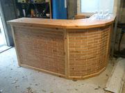 bar en brique de bois