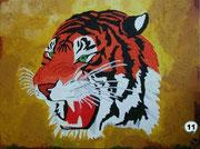 Tiger Ölgemälde auf Leinwand Best. Nr. 11