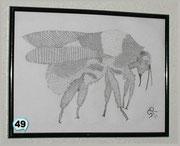 Biene Bleistiftzeichnung Best. Nr. 49