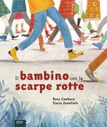 """""""Il bambino con le scarpe rotte"""" di Rosa Cambara (Edizioni Gruppo Abele, 2018)"""