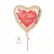 "Folienballon ""I Love You - Herz 02"" - 18""  -  € 5,90"