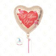 "Folienballon ""I Love You - Herz 02"" - 18""  -  € 5,90"