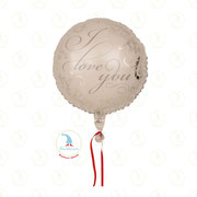 "Folienballon ""I Love You - white"" - 18""  -  € 5,90"