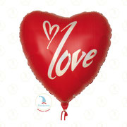 "Folienballon ""Love Herz XL"" - ca. 90cm  -  € 14,90"