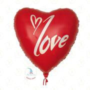 "Folienballon ""Love Herz XL"" - ca. 90cm  -  € 14,90"