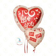 "Folienballon ""I Love You - Herz 00"" - 18""  -  € 5,90"