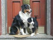 Annie und Enkel