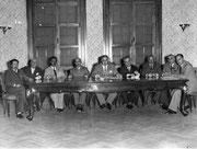 foto Archivio Avv. MASSIMO DI SUMMA - anni 50 - la Giunta Provinciale di Brindisi