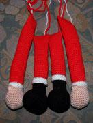 """...für mich ist es der Weihnachsmann, aber unter """"Türhänger Nikolaus"""" ist dieser nette Mann zu kaufen..."""