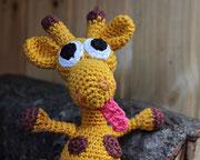 Giraffe für Emily - Ostern 2015 - schaut was ich für eine lange Zunge habe