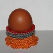 2016 - Eierbecher aus Wollresten