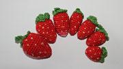 Erdbeeren -  verschiedene Anleitungen angesehen und dann einen Mix aller Vorlagen