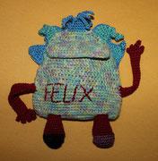 Sorgenfresser für Felix - ist meine Idee und mein Entwurf.