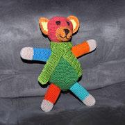 Bunter Bär für Emily. - Jänner 2015 - Auf Wunsch wurde noch ein zweiter Bär dieser Art geboren.