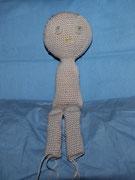 Puppe Lisa - April 2015 - Ist nicht ganz nach meinem Geschmack, ist mir zu dünn. aber bin trozdem stolz auf sie