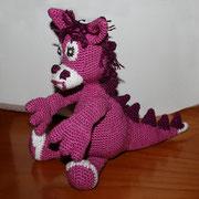 Ein süßer Dino - meine Arbeit