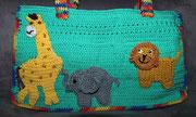 Tasche für  Emily - Jänner 2015 - Zootiere sollten drauf sein.