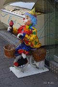 Clowns im Eissalon - Wien Landstraßer Hauptstraße