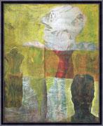 Kunst von Gregor Strunk - UNIKAT- Na ja, und..30 x 24 cm 335 €