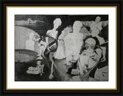 Kunst von Gregor Strunk - Graphit auf Papier - 59,7 x 42 cm 400 €