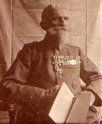 Rechnungsrat Fritz Zingler, Berlin, Veteran 1866, 1870 und 1914 - EK2 am weiss-schwarzen Band, selten
