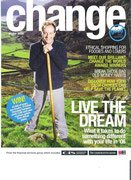 Cover story on life changing choices for the Co-operative's Change magazine.