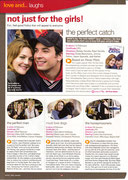 Rom-com film reviews page from ChoicesUK brochure.